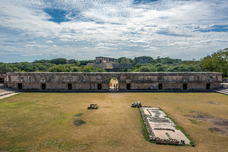 The Governors Palace in the ancient Mayan city of Uxmal, Merida, Mexico Reklamní fotografie