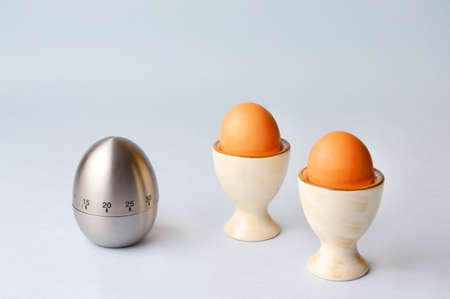 cardbox: Egg timer and the boiled eggs
