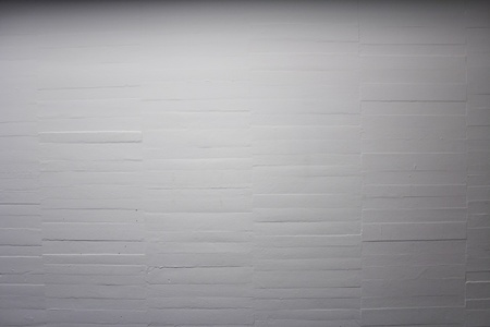 White brick wall with space for text, lighting Stock Photo - 16561279
