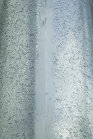 Metal with dark lines in industrial structure, steel photo