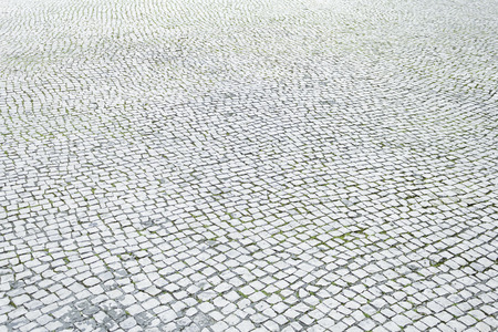 Floor tiles in urban city street, construction and architecture