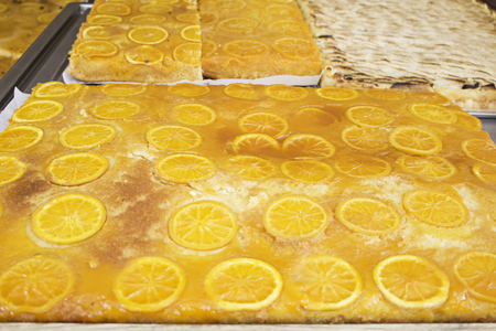 orange tart: Orange tart pastry, trade and sale