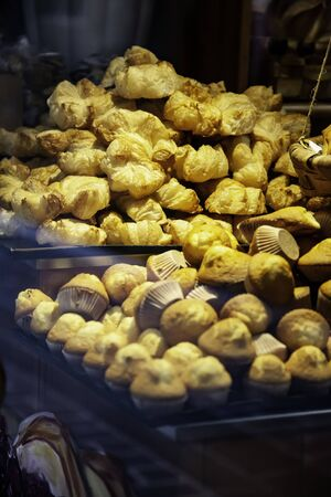 Pastry muffins, sweets and desserts, processed food