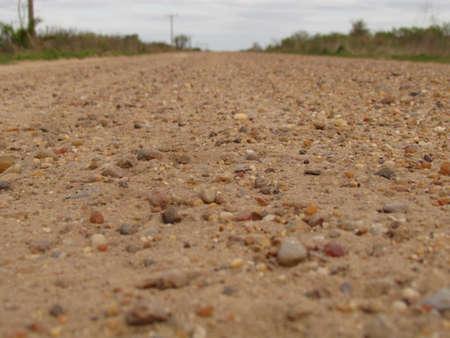 camino: Camino Road Stock Photo