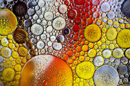 abstract colorful organic bubbles macro pattern texture