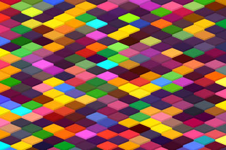 isometric minimal abstract cubes and squares colorful backgrounds textures patterns