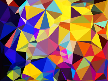 colorful poly morph triangles abstract colorful shapes background patterns