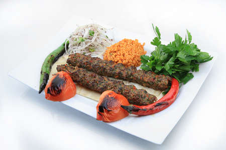 adana shish kebab turkish traditional food