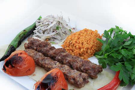 adana shish kebab turkish traditional food