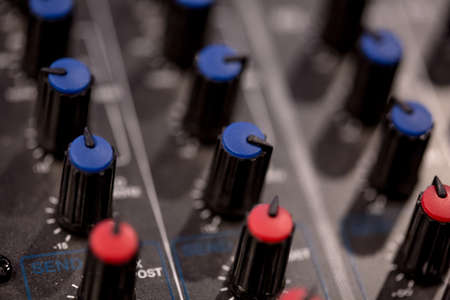 mixer sockets and controls dimmers for fine tuning macro