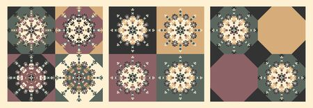 Abstract vintage pattern. Decorative element. Vector. Banque d'images - 141707940