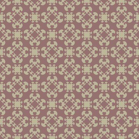 Seamless pattern with little hearts. Burgundy red color and light green. Vector. Banque d'images - 147966304