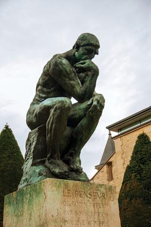 Paris, France - July 11, 2017. Statue
