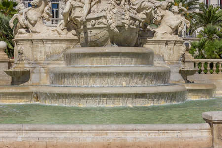 collectivity: fountain Stock Photo