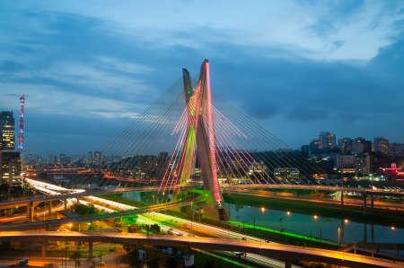 サンパウロ、ブラジルの都市の最も有名な橋