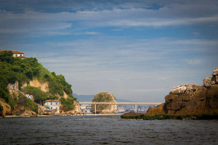 Island of Boa Viagem in the city of Niteroi, state of Rio de Janeiro Stock Photo