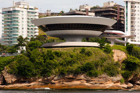 Contemporary Museum of Art in the city of Niteroi, state of Rio de Janeiro