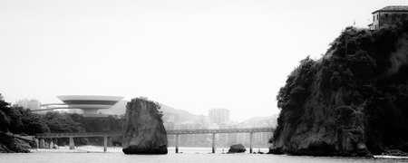 rio de janeiro: Island of Boa Viagem in the city of Niteroi, state of Rio de Janeiro Editorial