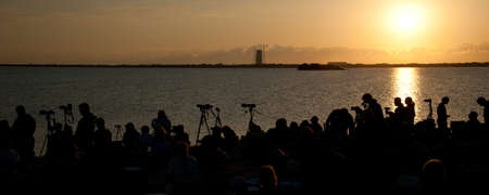 cape canaveral: Launch of Endeavour STS-134 in Cape Canaveral Stock Photo