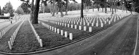 San Francisco National Military Cemetery, in San Francisco, CA, USA