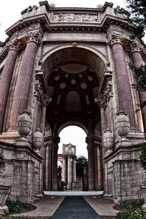 fine arts: Palace Of Fine Arts, Marina District, San Francisco, California, USA Editorial
