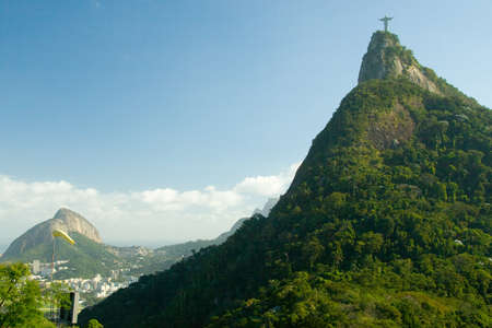 rio: Christ The Redeemer on top of the Corcovado Mountain, Rio De Janeiro, Brazil