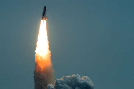 Launch of Endeavour STS-134 in Cape Canaveral, Florida.