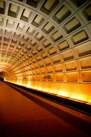 A subway station in Washington DC.