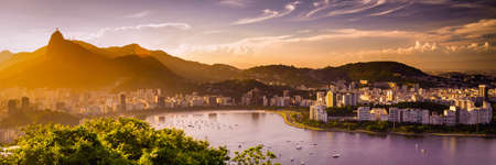 brazil beach: Aterro do Flamengo, Rio de Janeiro, Brazil Stock Photo