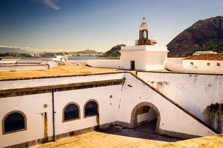 rio de janeiro: Courtyard of a fortress, Santa Cruz Fortress, Guanabara Bay, Niteroi, Rio de Janeiro, Brazil