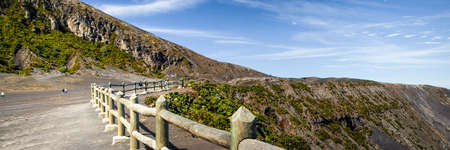 volcanic landscape: Volcanic landscape, Irazu, Volcan Irazu National Park, Costa Rica