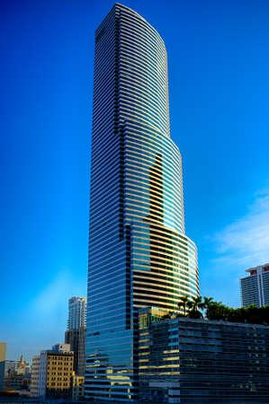 Skyscrapers in a city, Miami, Miami-Dade County, Florida, USA Standard-Bild
