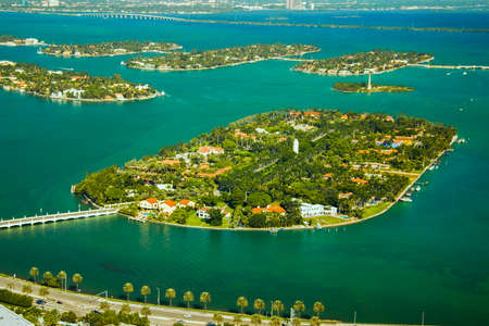 Island in the ocean, Star Island, Miami, Miami-Dade County, Florida, USA photo