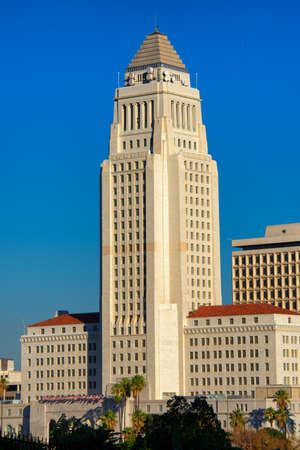 Los Angeles City Hall, Los Angeles, California, USA