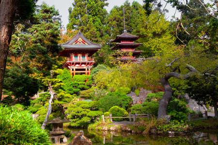 日本庭園、San Francisco、カリフォルニア州、アメリカ合衆国の塔