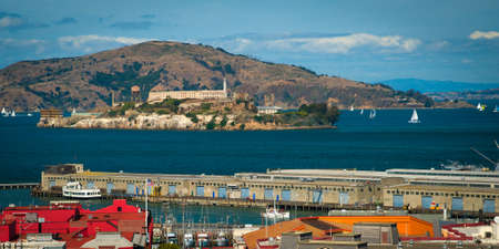 Fisherman's Wharf on San Francisco Bay, San Francisco, California, USA photo