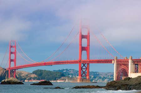 Golden Gate Bridge in San Francisco Bay, San Francisco, California, USA Standard-Bild - 25433246