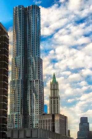 Beekman Tower in Manhattan, New York City, New York State, USA Stock Photo
