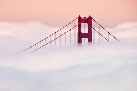 Golden Gate Bridge, San Francisco Bay, San Francisco, California, USA