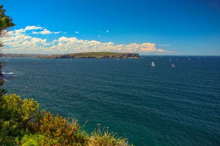 Islands in an ocean, Sydney, New South Wales, Australia