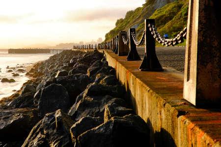 Promenade at Golden Gate National Recreation Area, The Presidio, San Francisco, California, USA