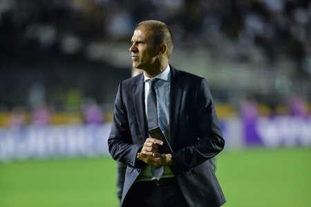 Rio, Brazil - jun 10, 2017: Milton Mendes coach in match between Vasco and Sport by the Brazilian championship in Sao Januario Stadium