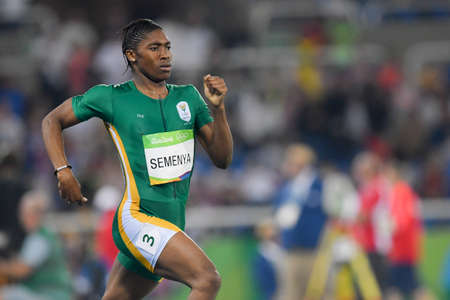 Rio de Janeiro, Brazil - august 20, 2016: SEMENYA Caster (RSA) during womens 800m in the Rio 2016 Olympics Games Editorial