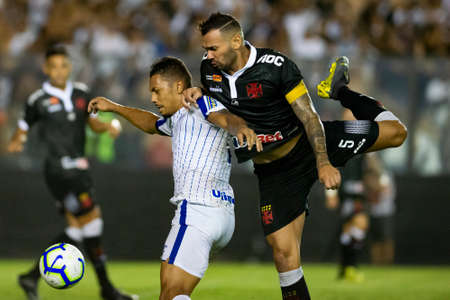 Rio, Brazil - march 14, 2019: Leandro Castan player in match between Vasco and Avai by the Carioca Championship in Sao Januario Stadium