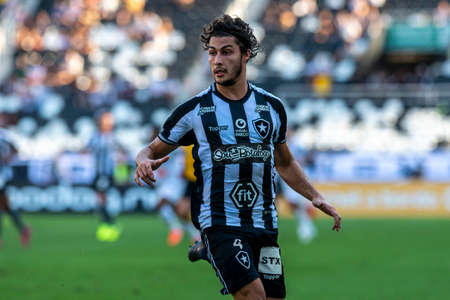 Rio, Brazil - september 08, 2019: Marcinho player in match between Botafogo and Atletico-MG by the Brazilian Championship in Nilton Santos Stadium