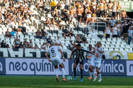 Rio, Brazil - september 08, 2019: Luiz Fernando player in match between Botafogo and Atletico-MG by the Brazilian Championship in Nilton Santos Stadium Imagens