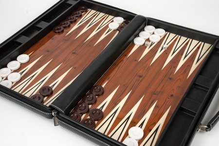 backgammon: Backgammon game Stock Photo