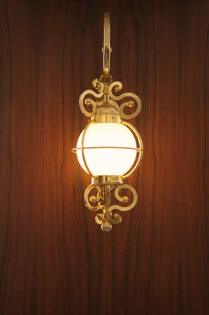 wall sconce: Lamp on the wall