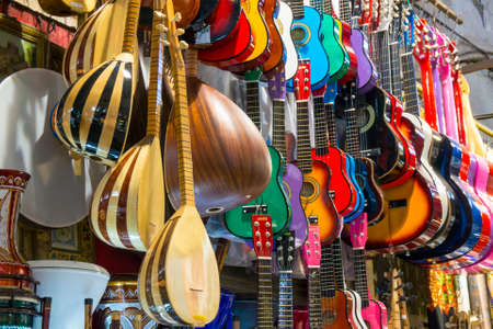 belonging: musical instruments belonging to each culture.