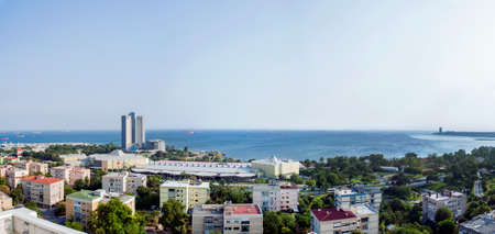 the marmara: Marmara Sea from the top of a tall building.